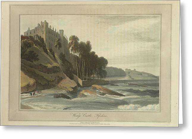Wemys Castle In Fifeshire Greeting Card