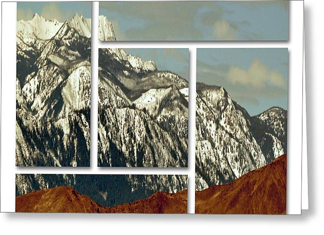 Wenatchee Mountains Greeting Card by Molly McPherson