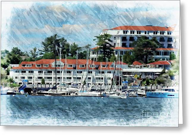 Wentworth By The Sea Greeting Card by Marcia Lee Jones