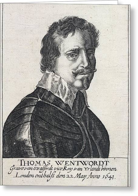 Wentworth Thomas Greeting Card by British Library