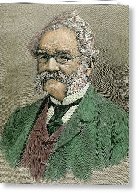 Werner Von Siemens (lenthe Greeting Card by Prisma Archivo