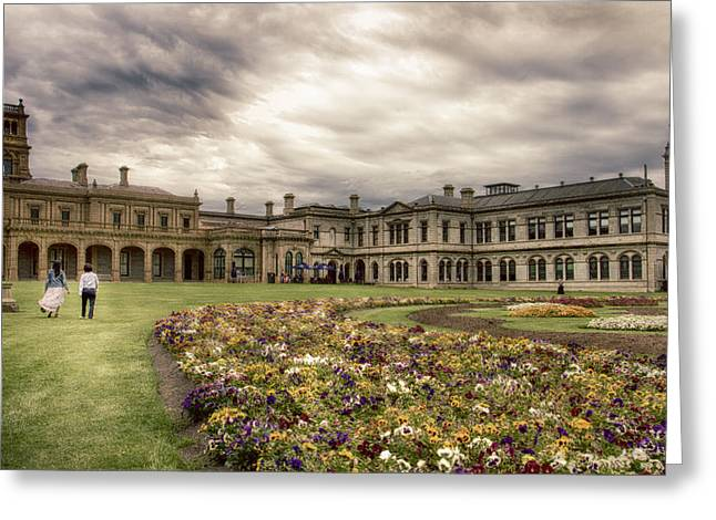 Greeting Card featuring the photograph Werribee Mansion by Kim Andelkovic