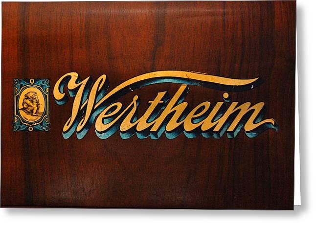 Wertheim Cover Greeting Card