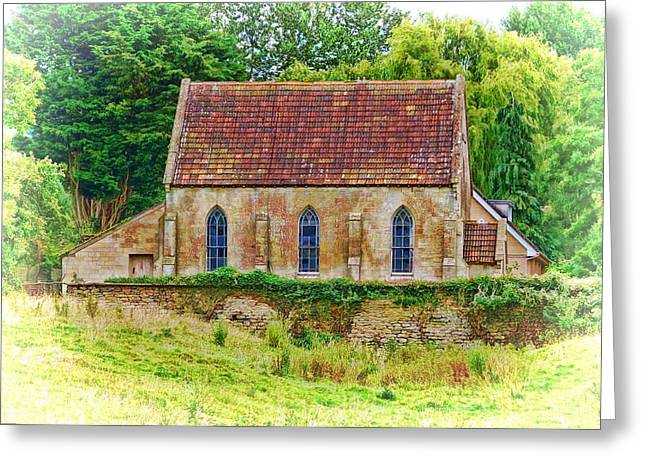 Greeting Card featuring the photograph Wesleyan Chapel -01 by Paul Gulliver
