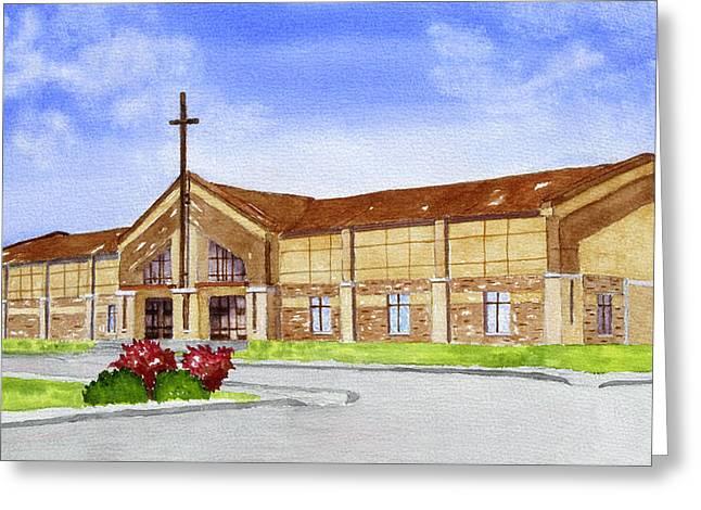 Wesleyan Church Greeting Card