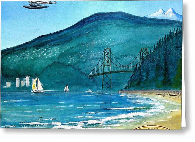 West Coast Dream Greeting Card by John Lyes