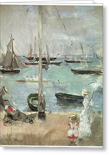 West Cowes Isle Of Wight Greeting Card by Berthe Morisot