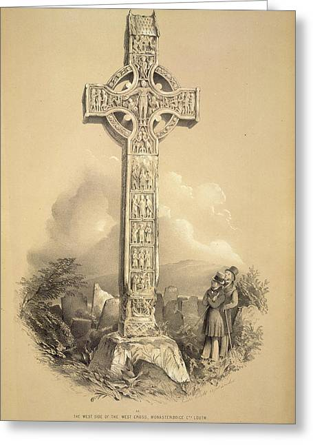 West Cross Greeting Card