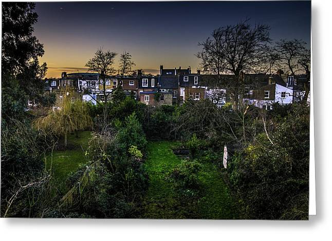 Greeting Card featuring the photograph West Hampstead Sunset by Rob Tullis