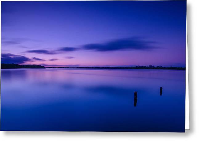 West Loch Sunrise Greeting Card