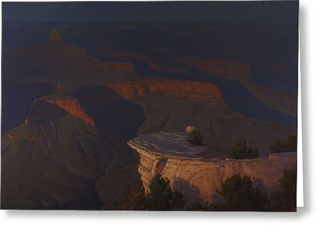 West Moon Grand Canyon Greeting Card
