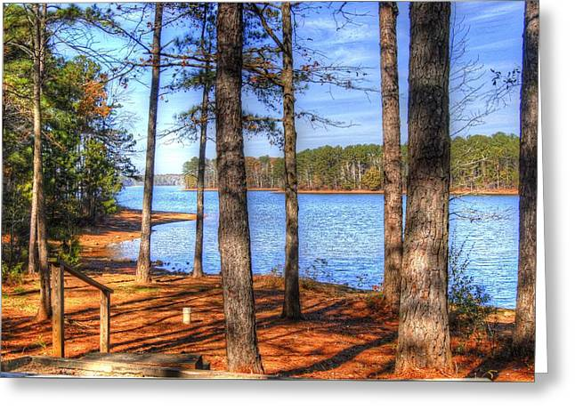 West Point Lake Greeting Card