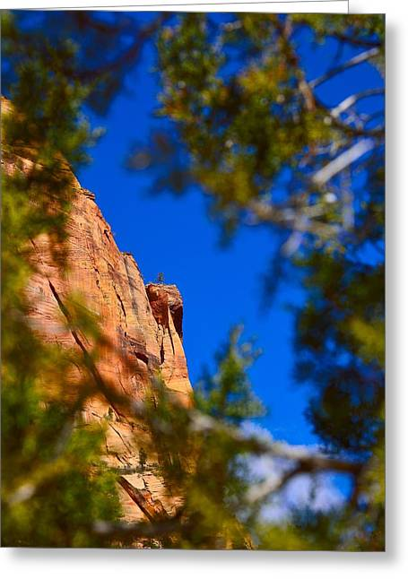 West Rim Trail Greeting Card