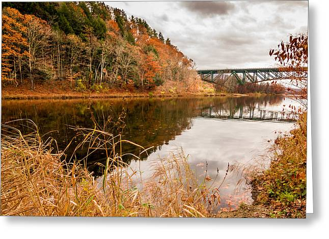 West River At Interstate 91 Greeting Card