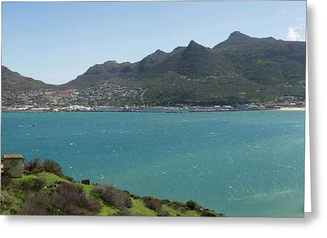 West Side Of Hout Bay Seen Greeting Card by Panoramic Images