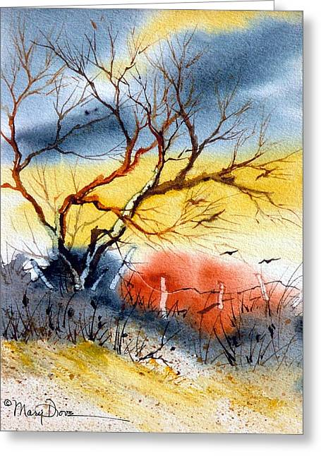 West Texas Sunrise Greeting Card