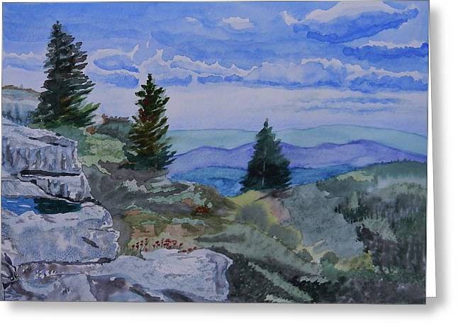 West Virginia On My Mind Greeting Card by Warren Thompson
