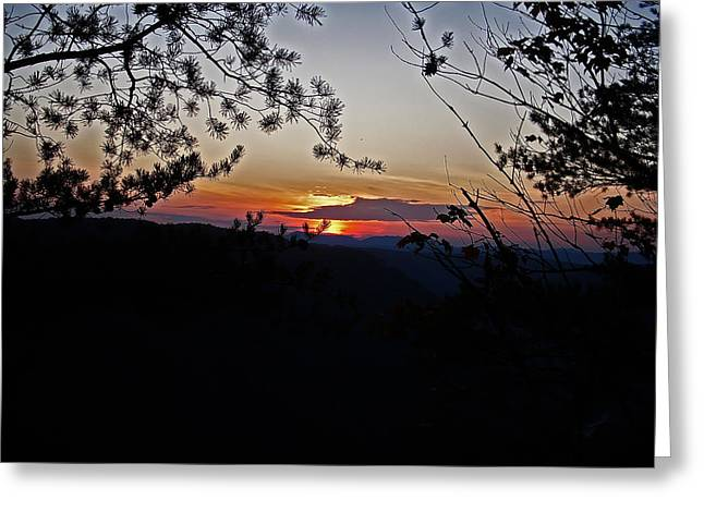West Virginia Sunset 2 Greeting Card by Aimee L Maher Photography and Art Visit ALMGallerydotcom