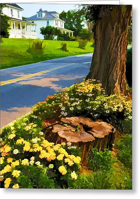 Greeting Card featuring the photograph Westchester Avenue by Dana Sohr