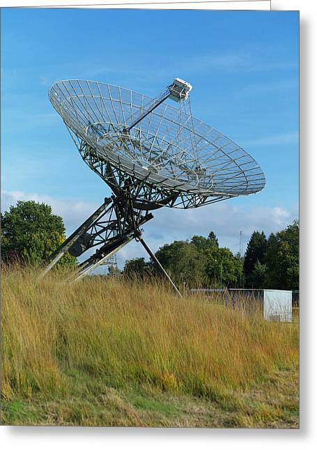 Westerbork Synthesis Radio Telescope Greeting Card by Ibm Research