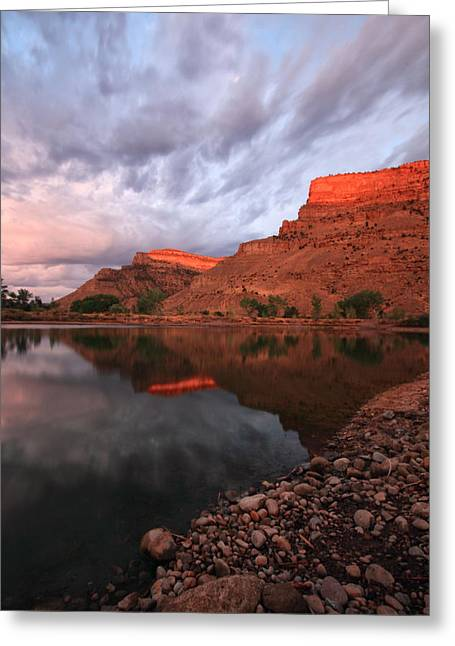 Greeting Card featuring the photograph Western Colorado by Ronda Kimbrow