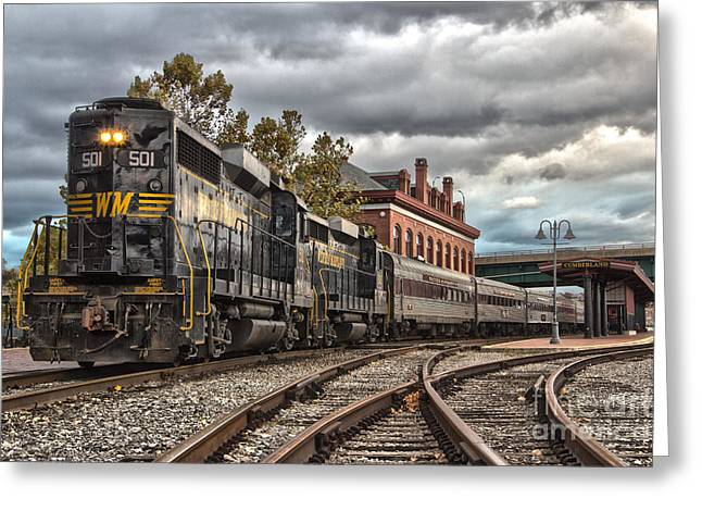 Western Maryland Scenic Railroad Greeting Card