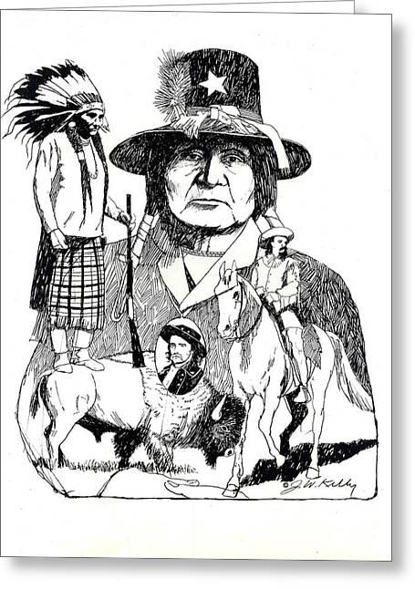 Western Memories Greeting Card