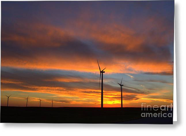Greeting Card featuring the photograph Western Oklahoma Skies 1 by Jim McCain