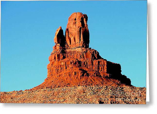 Western Usa Rock Greeting Card by John Potts