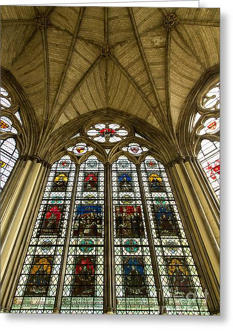 Westminster Abbey Chapter House 2 Greeting Card