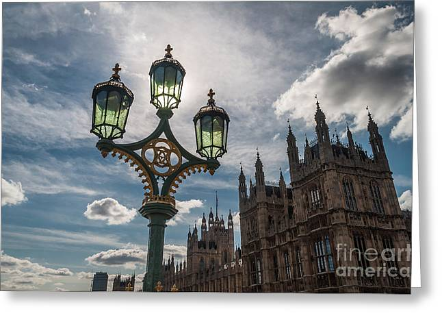 Greeting Card featuring the photograph Westminster by Matt Malloy