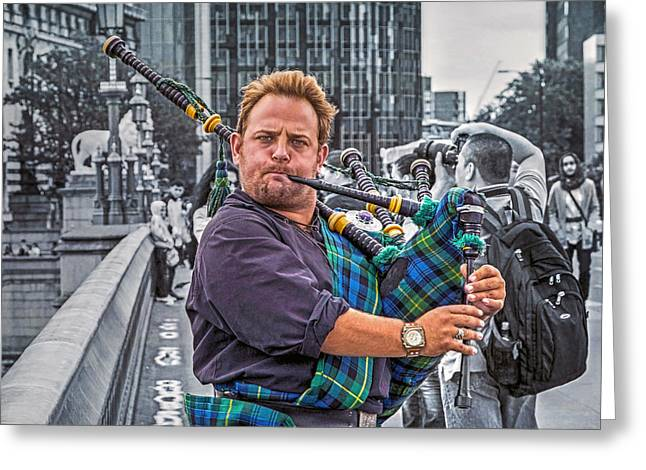 Westminster Piper Greeting Card