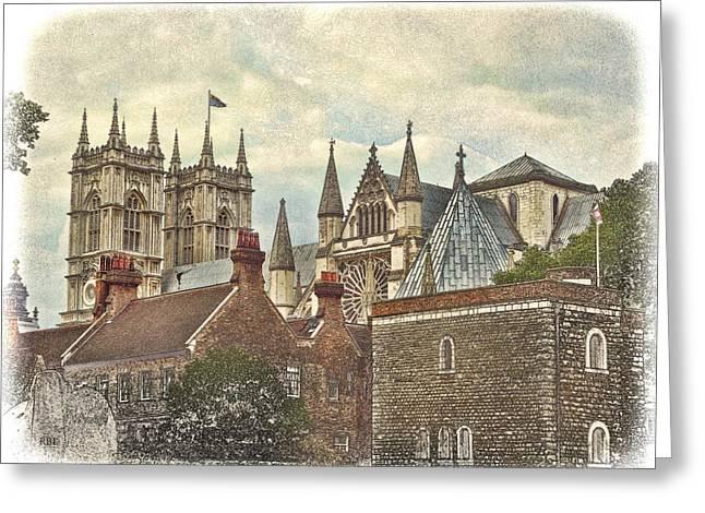 Westminster Skyline Greeting Card