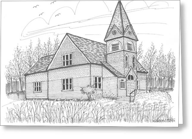 Westmore Community Church Greeting Card