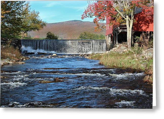 Weston Mill And River Greeting Card
