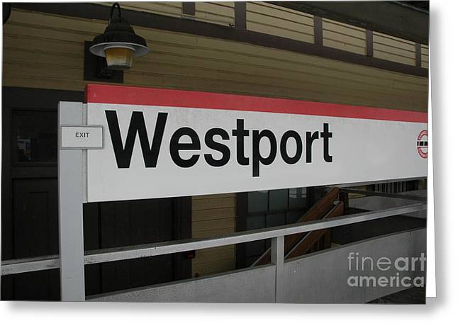Westport Greeting Card