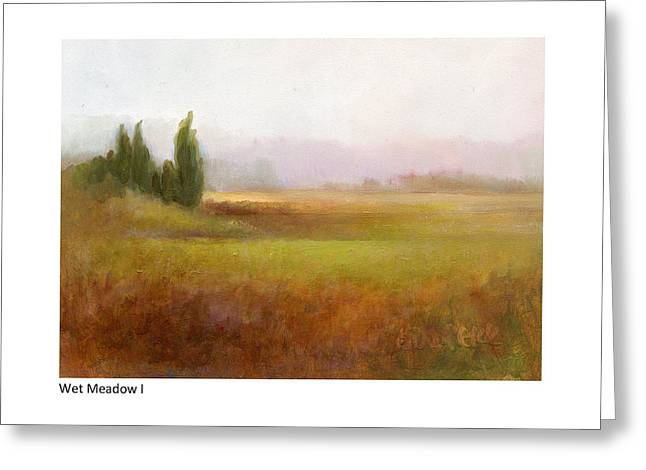 Wet Meadow I Greeting Card
