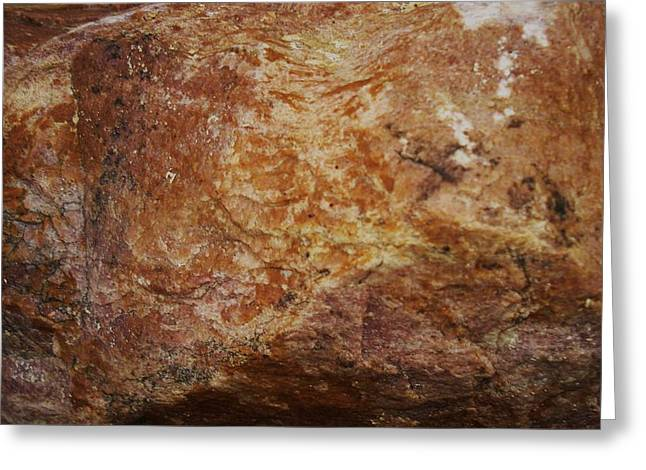 Greeting Card featuring the photograph Wet Rock by J L Zarek