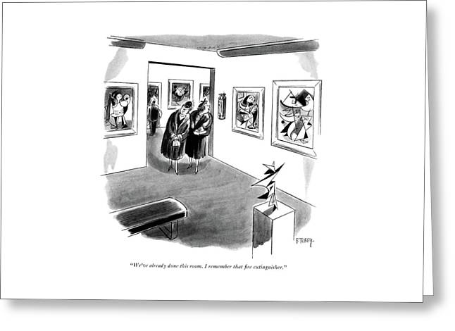 We've Already Done This Room. I Remember That ?re Greeting Card