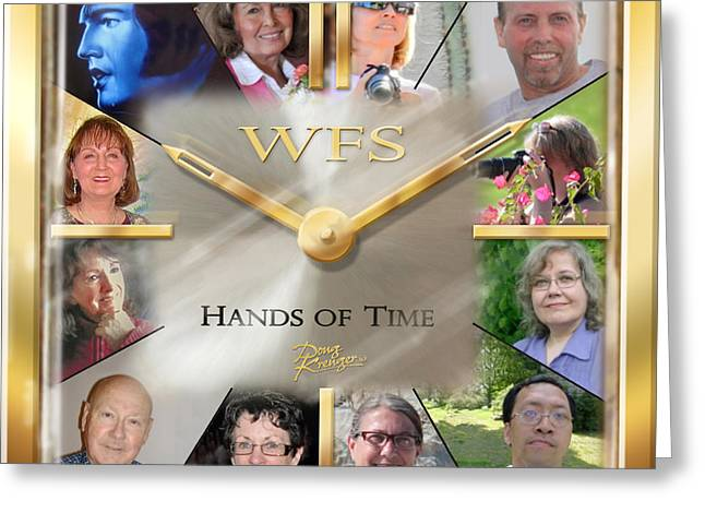 Wfs Hands Of Time Greeting Card by Doug Kreuger