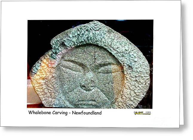 Whalebone Art Greeting Card