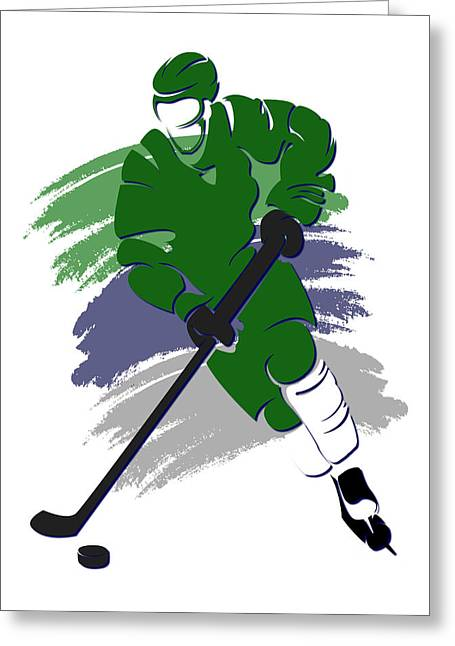Whalers Shadow Player2 Greeting Card by Joe Hamilton