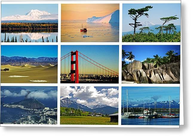 My Wonderful World ... Greeting Card