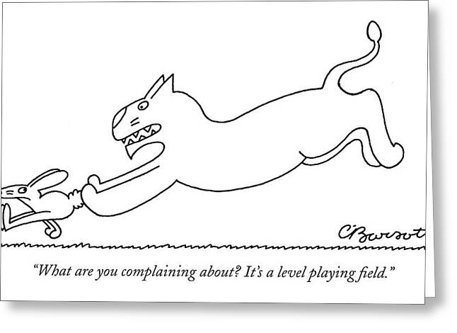What Are You Complaining About? It's A Level Greeting Card
