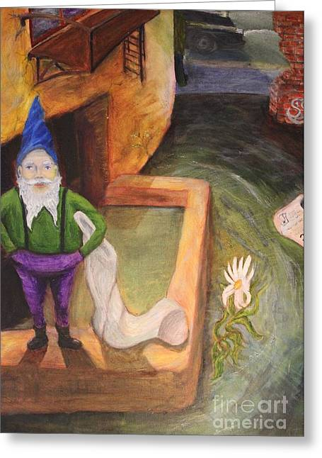 What Do You Gnome About Me Greeting Card
