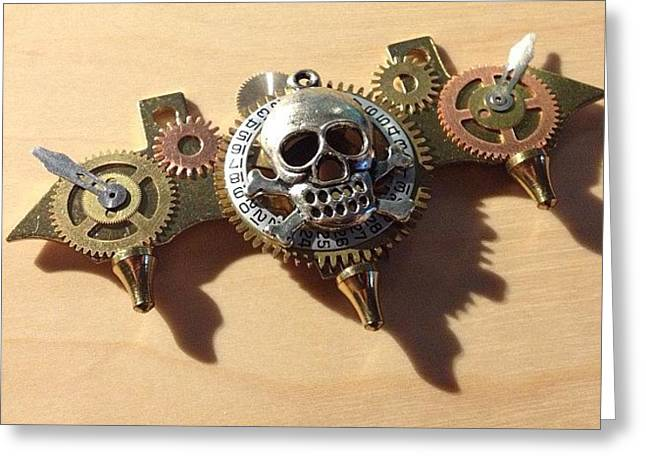 What Do You Think About My #steampunk Greeting Card by Erica Kuschel