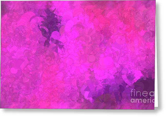 What Do You Want Pink Greeting Card by Holley Jacobs