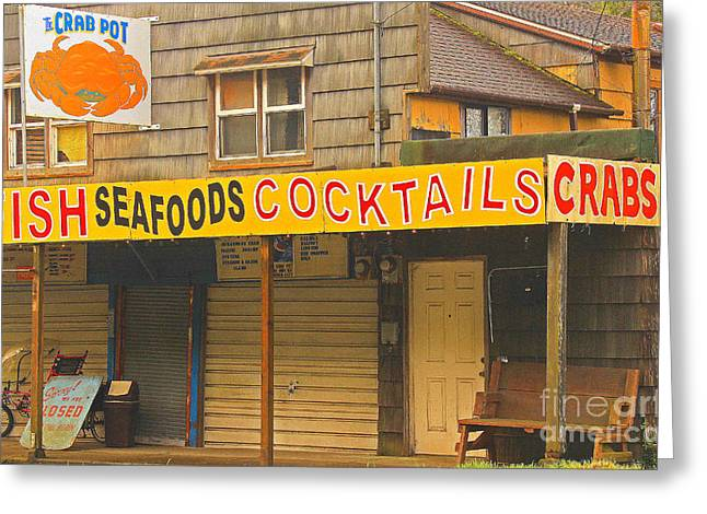 What Else Could You Want In Lincoln City Oregon Greeting Card by Kris Hiemstra