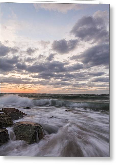 What I Watch Greeting Card by Jon Glaser