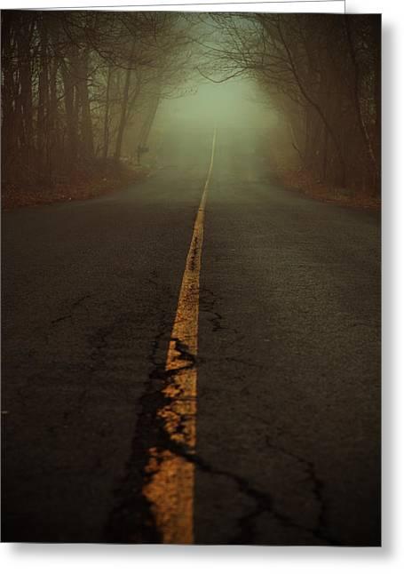 What Lies Ahead Greeting Card by Karol Livote